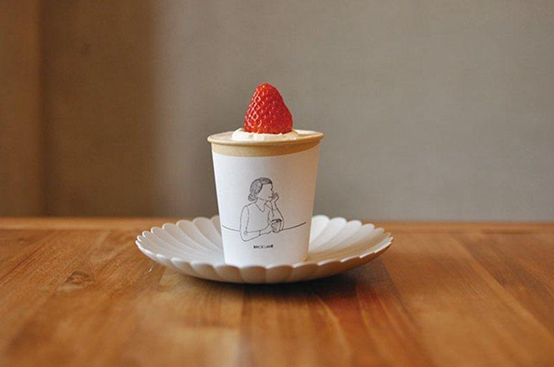 カップショートケーキ (杯子蛋糕)¥486/可愛模樣讓人捨不得放入口中。