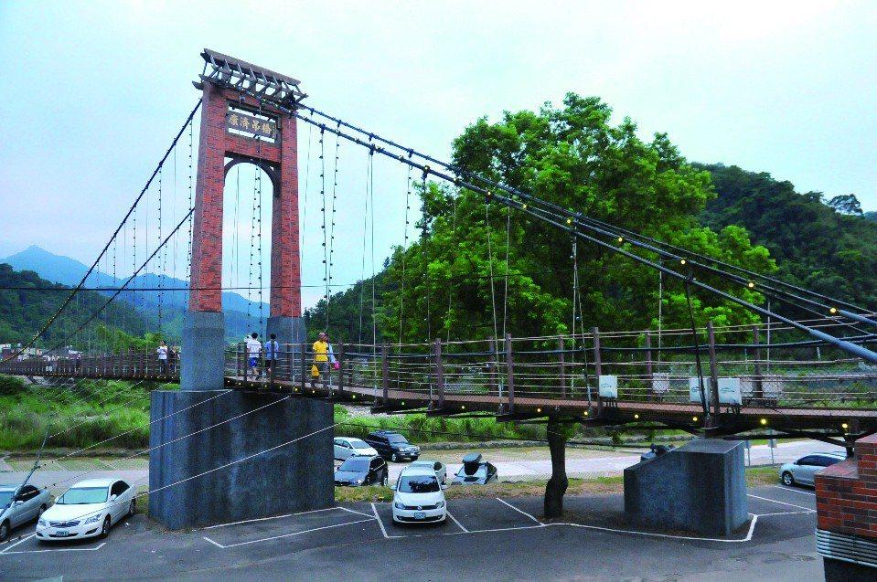 康濟吊橋。(圖片提供/欣傳媒)