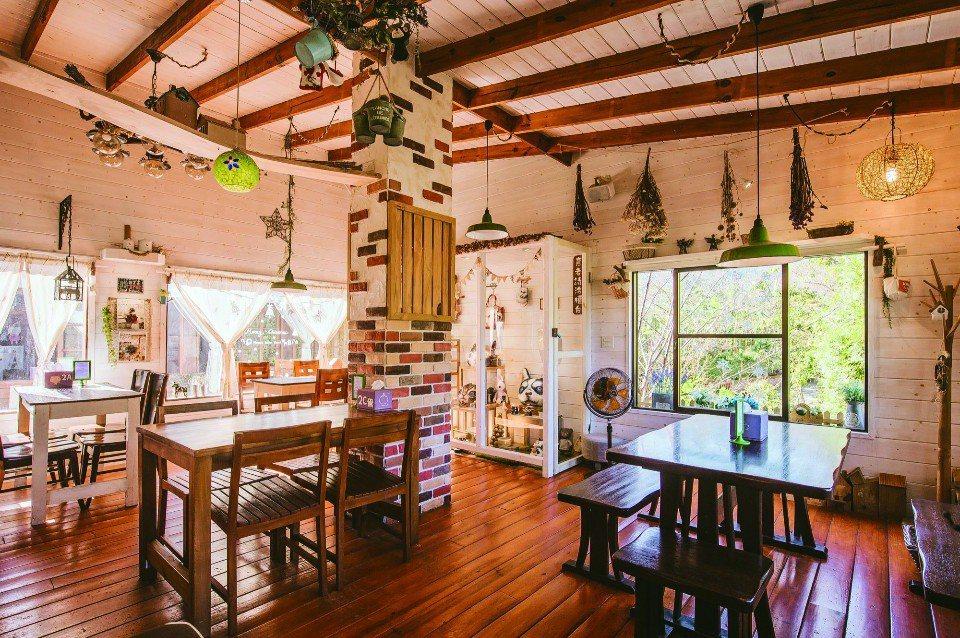 橄欖樹咖啡民宿大廳。(圖片提供/欣傳媒)
