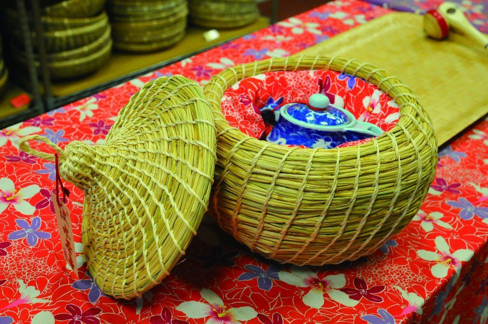 客家傳統工藝品-茶壽。(圖片提供/欣傳媒)