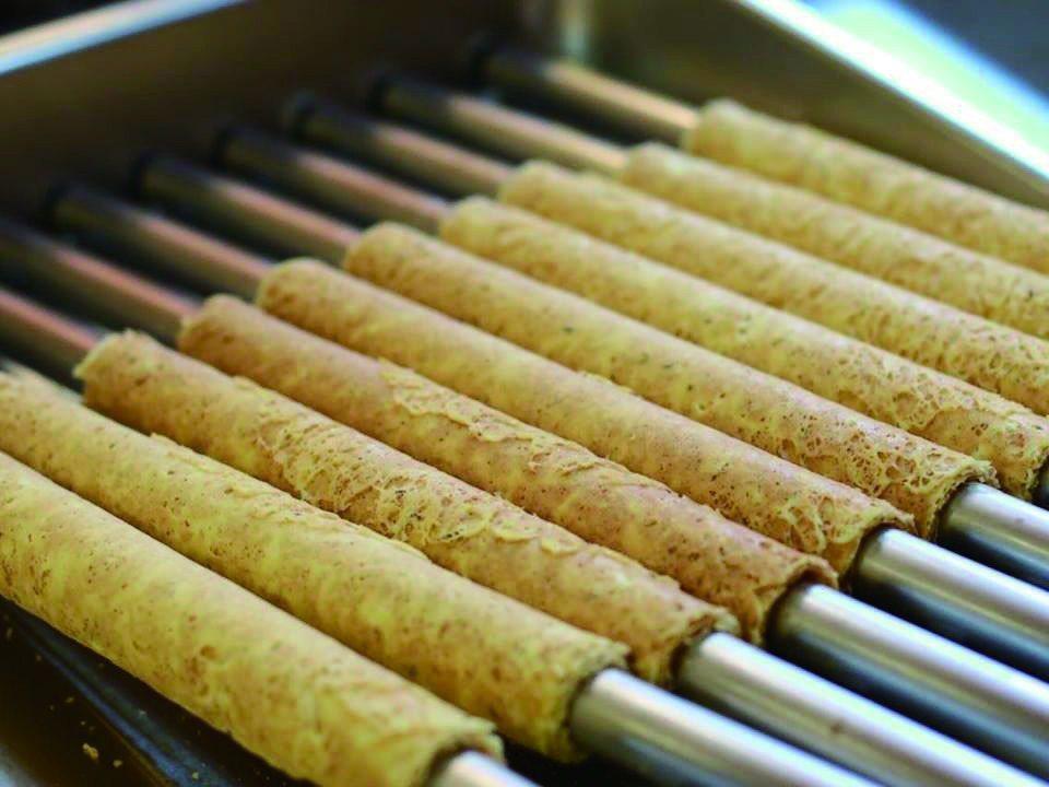 伊加伊日式手作蛋捲。(圖片提供/苗栗觀光協會)