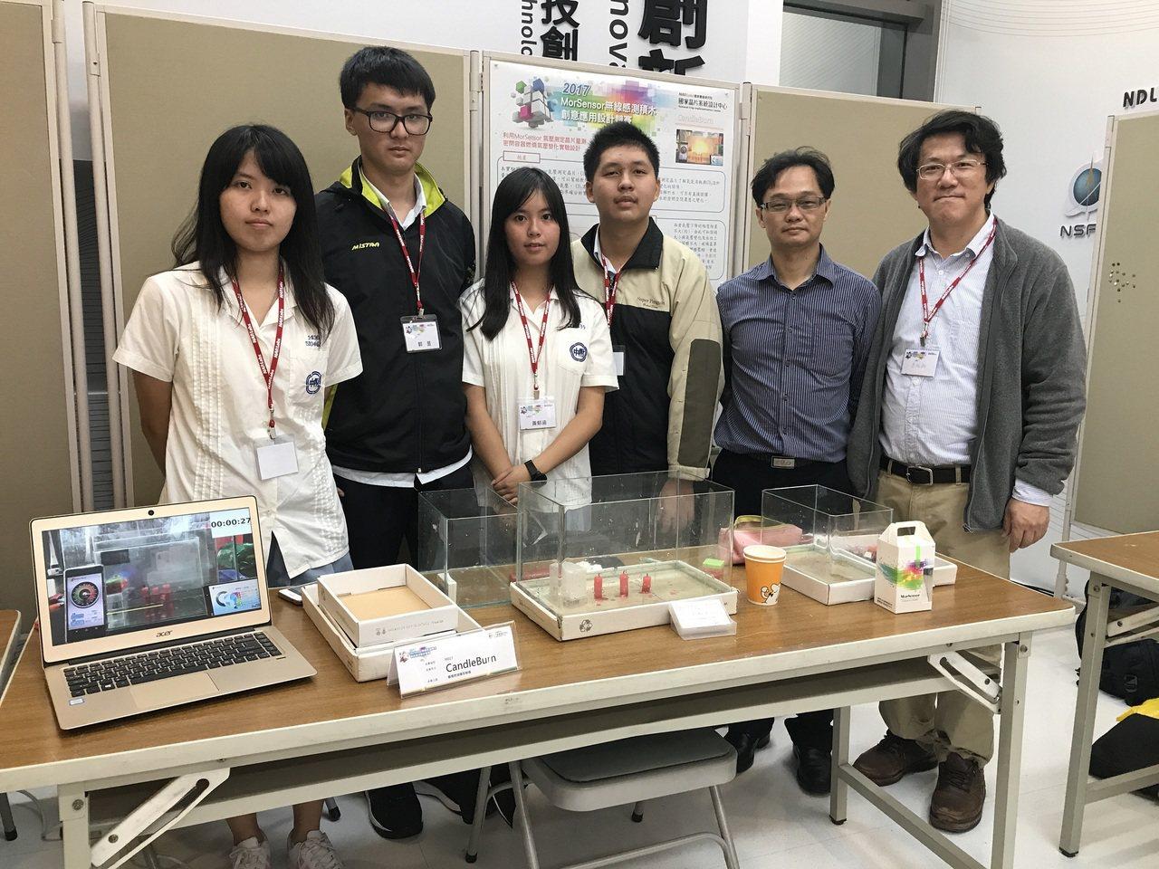 師大附中團隊研發出「蠟燭燃燒機密解碼」,打敗不少業界人士及研究生,一舉獲得銅牌獎...