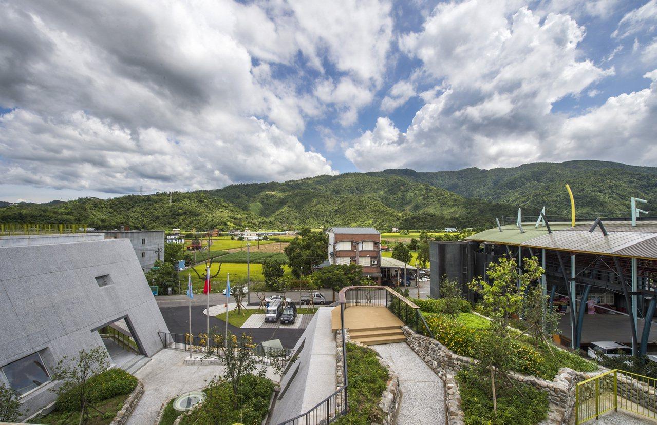 2017年台灣建築獎佳作「三星鄉公所行政中心暨周邊活化」。圖/建築師雜誌提供