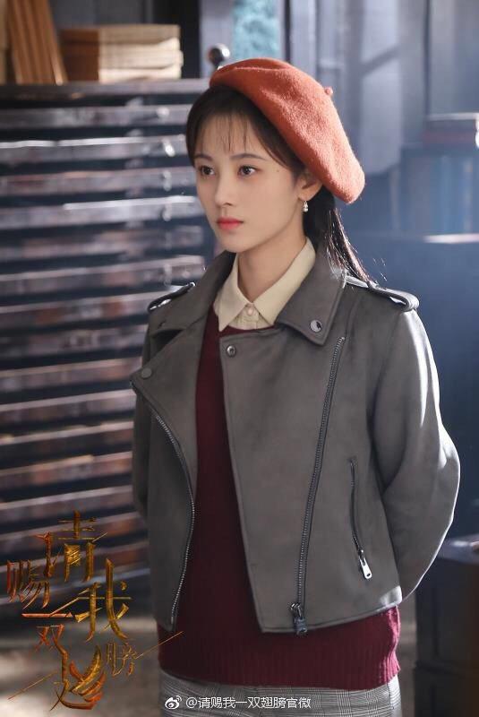 有「中國4000年第一美女」封號的鞠婧禕,與炎亞綸合作演出新戲。圖/華研提供