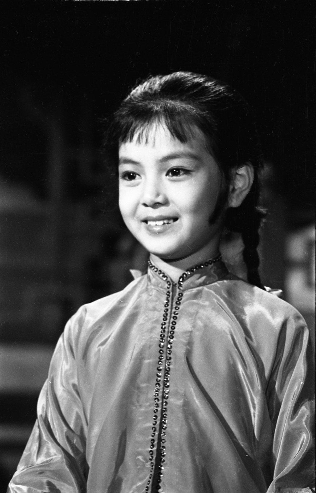 謝玲玲曾連莊奪下兩屆金馬獎最佳童星獎。圖/聯合報系資料照