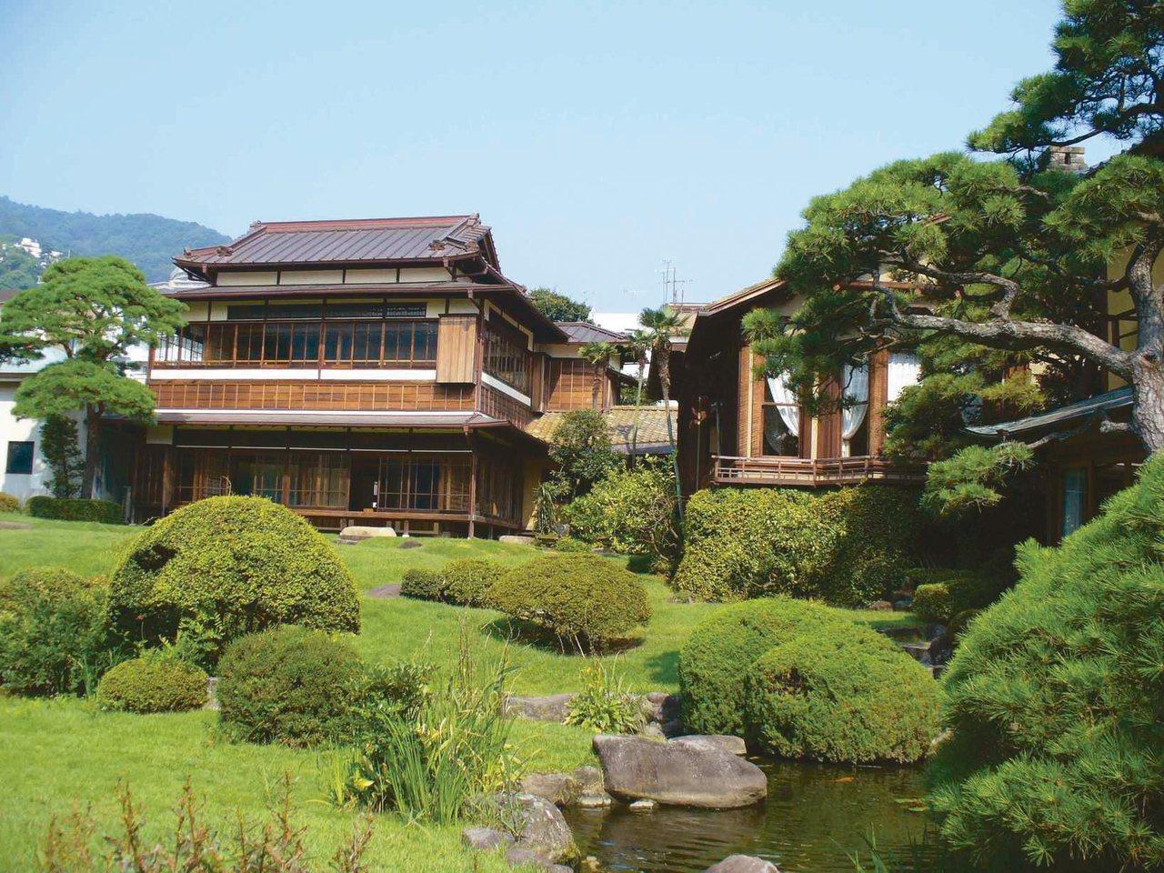 曾接待日本眾多文豪的千坪建築起雲閣。 圖/有行旅提供