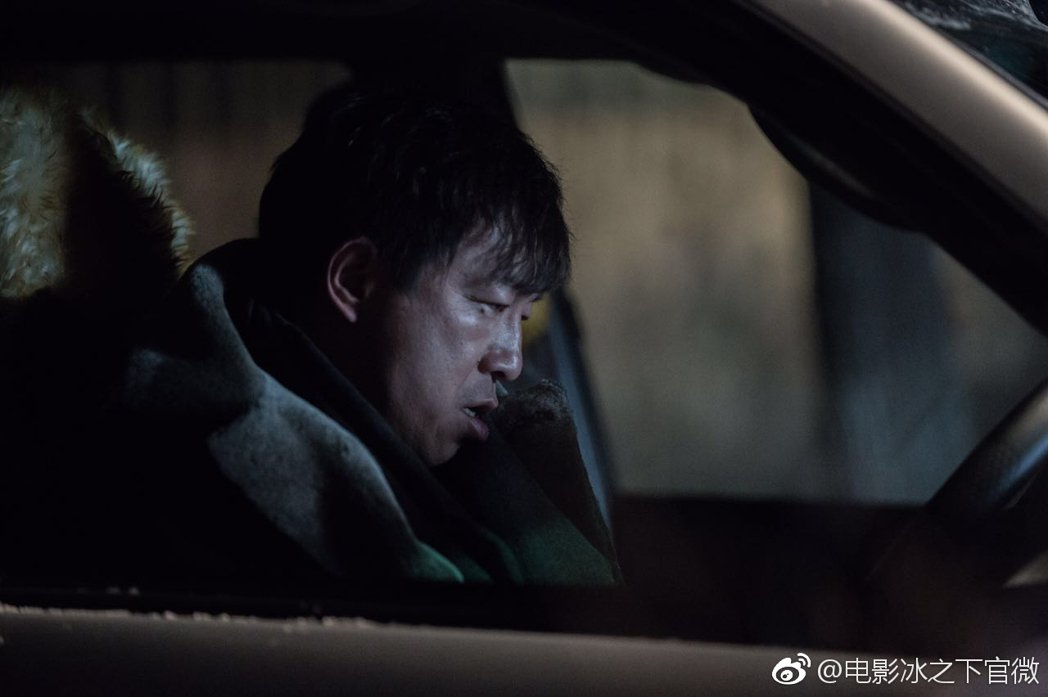 黃渤在「冰之下」中有突破演出。圖/摘自微博