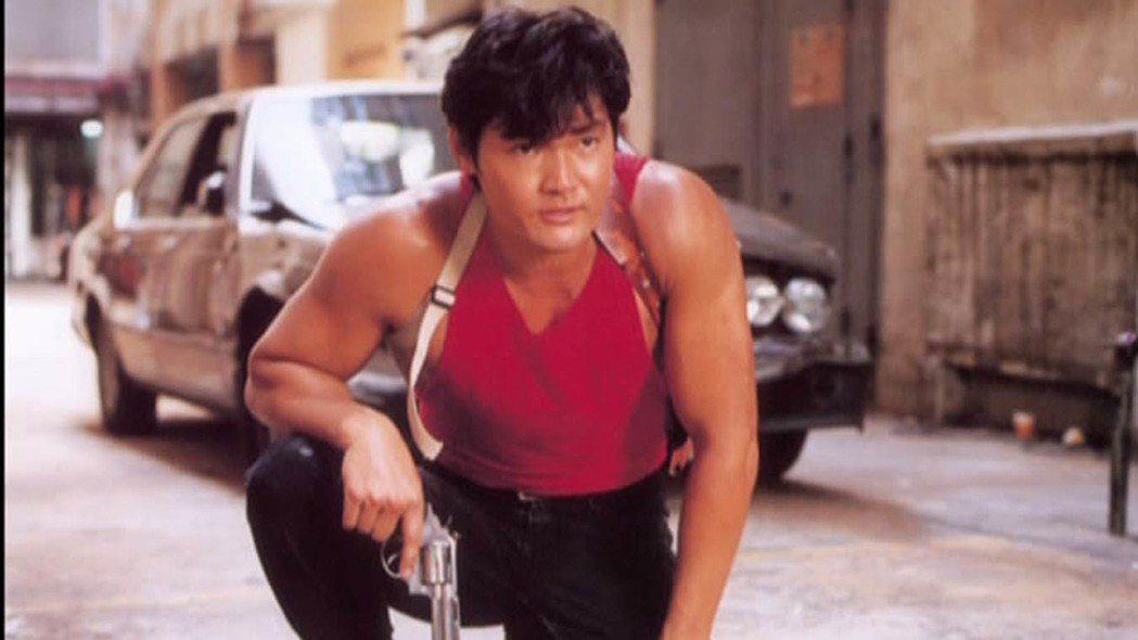港星周文健1997年曾在電影「孟波」中扮演男主角孟波。圖/截自YouTube