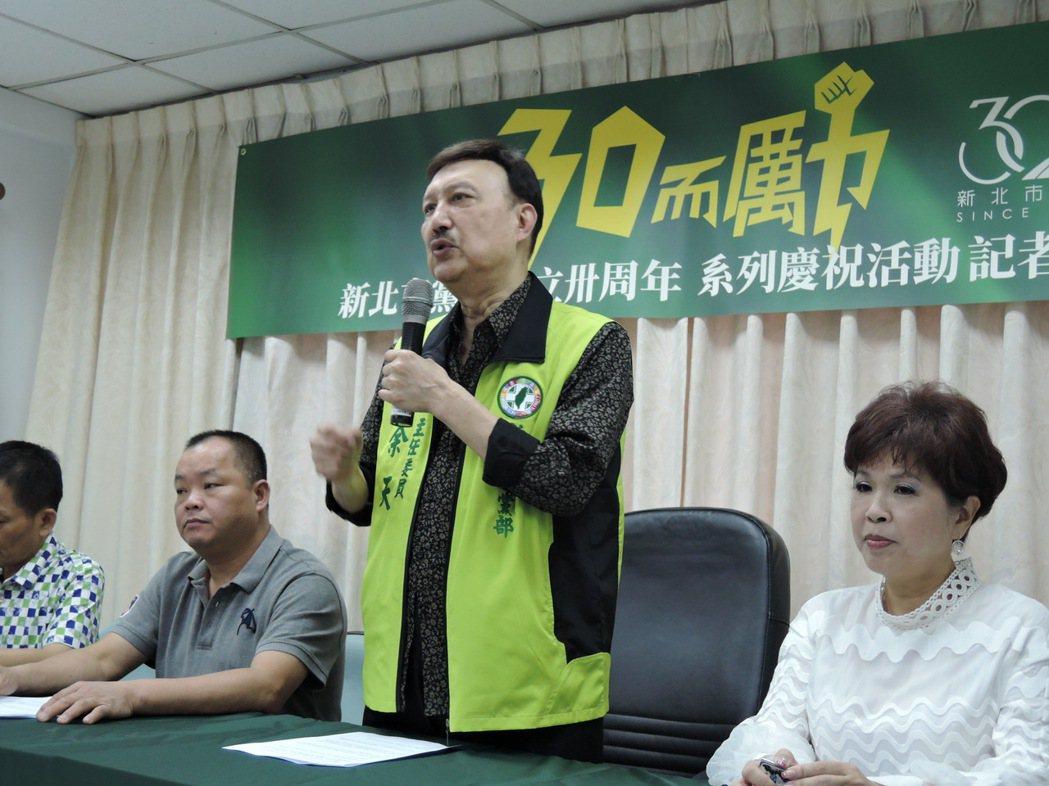 藝人余天不分區立委卸任後,當選民進黨新北市黨部主委。 本報資料照片