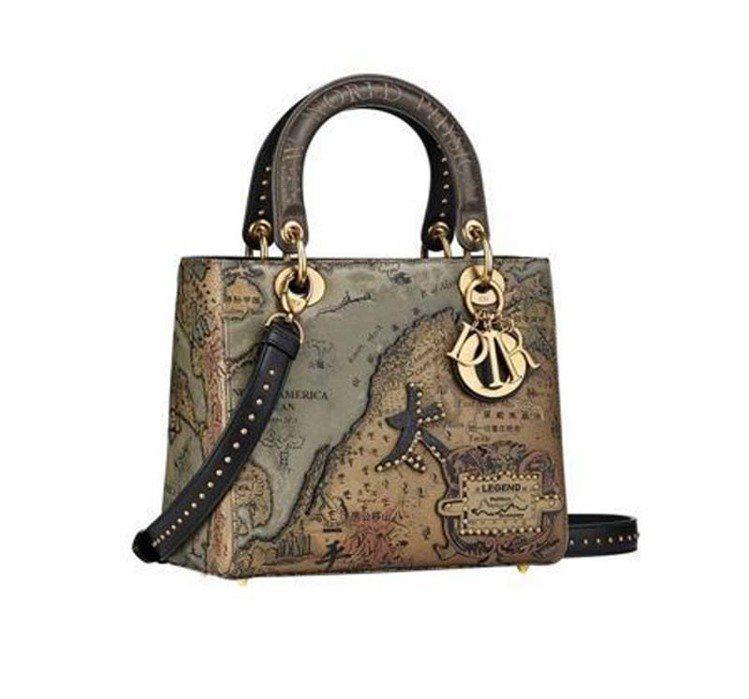大陸藝術家洪浩(Hong Hao)作品,售價23萬元。圖/Dior提供