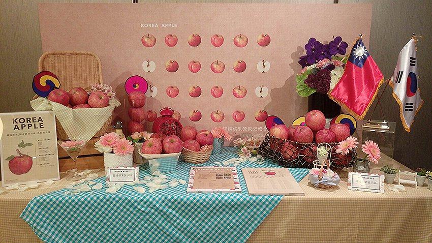 韓國蘋果紅潤豐實,香脆可口,又散發獨特的芳香。 韓國農林食品輸出入組合/提供