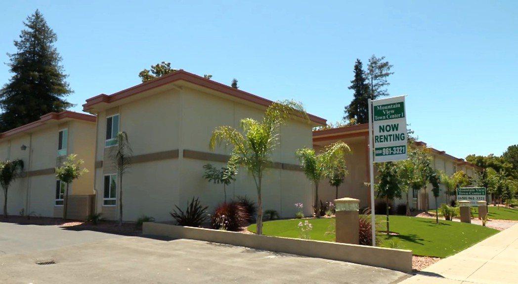 矽谷山景市一處出租公寓,一房一廳、居住空間600平方英尺,月租2590元。(特派...
