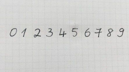 部份台灣民眾手寫阿拉伯數字的「2」太潦草,讓比利時郵差看不懂遭到退件。圖為比利時...