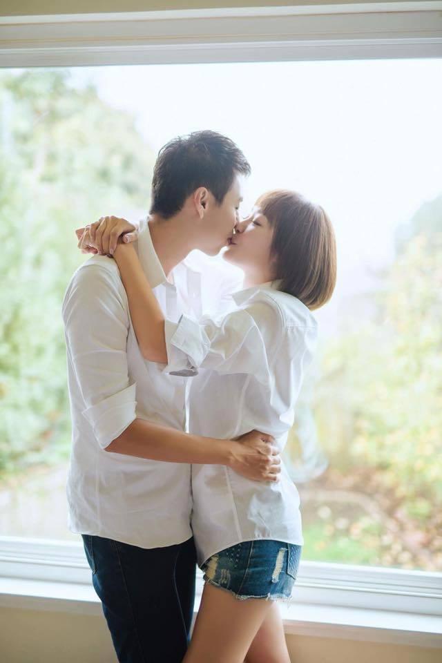 茵芙選在生日這天與男友登記結婚。 圖/擷自茵芙臉書