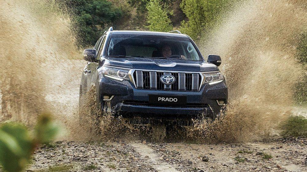PRADO搭載先進的智慧型越野系統,展現off-road駕馭的無限魅力。 圖/TOYOTA提供