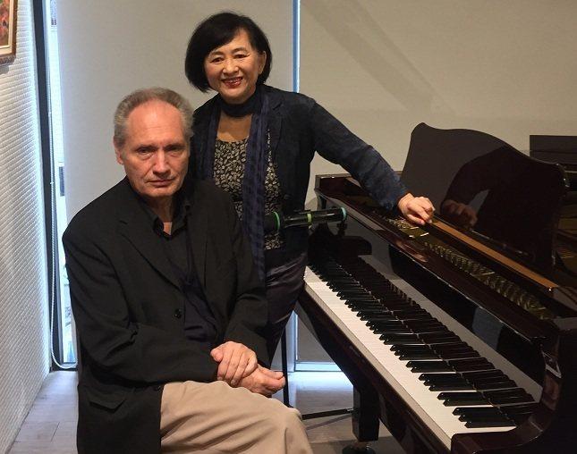 鋼琴家魏樂富和葉綠娜的演奏會上,將展現雙鋼琴、四手聯彈與詩作朗誦。(photo ...