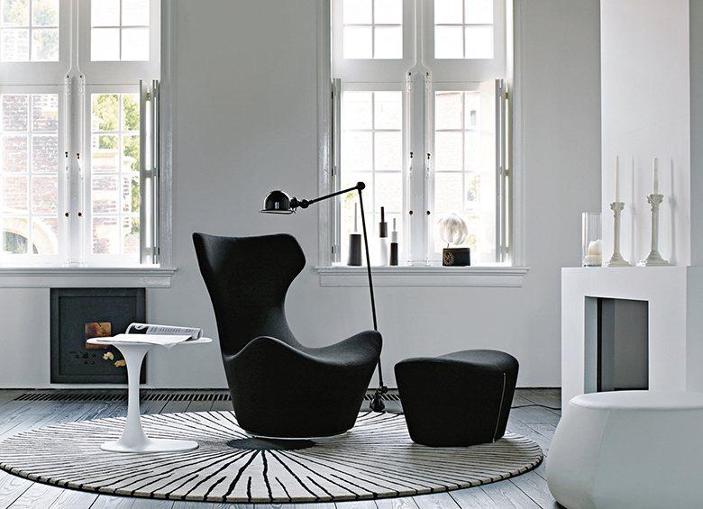 深澤直人為B&B Italia設計的經典座椅Grande Papilio,簡約的...