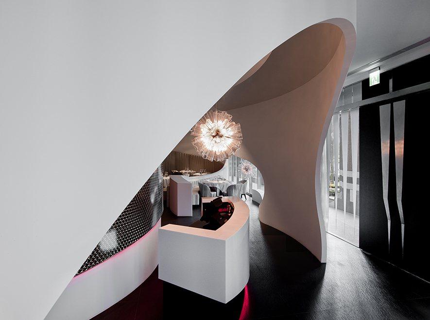 (圖)劉榮祿國際空間設計作品《空間的蒙太奇》