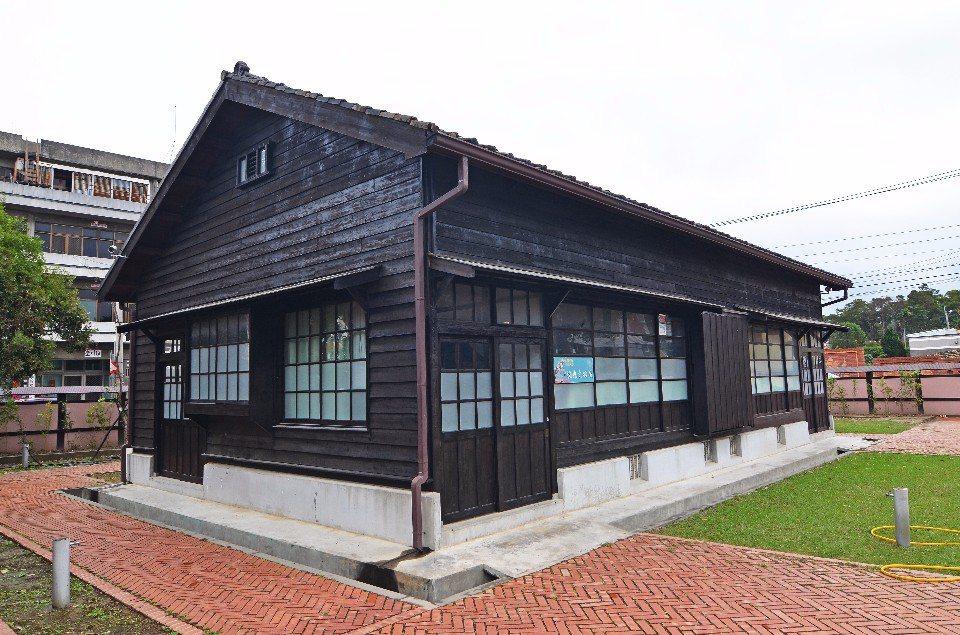 山腳國小日式建築。(圖片提供/欣傳媒)