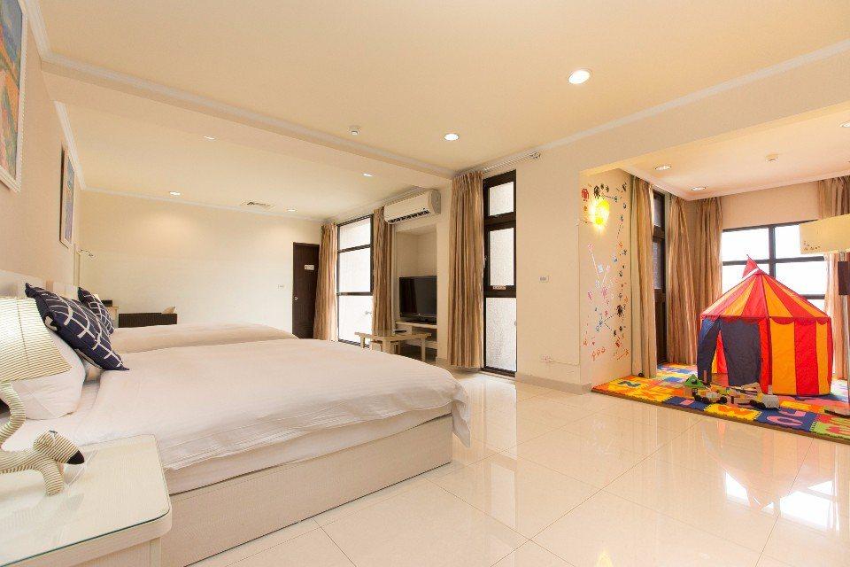 F Hotel親子房。(圖片提供/欣傳媒)