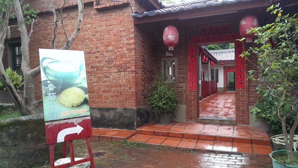擁有140年歷史的「東里家風古厝民宿」。(圖片提供/苗栗觀光協會)