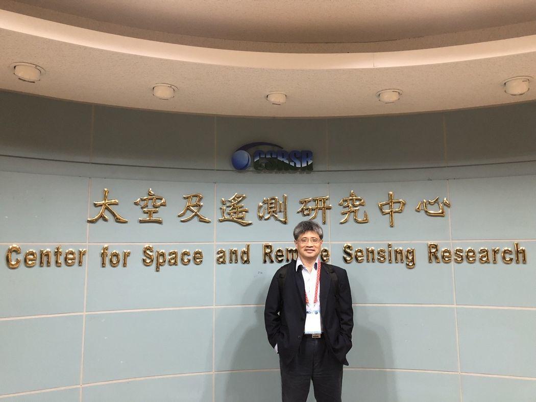 中央大學太空科學研究所教授劉正彥。 圖/劉正彥提供