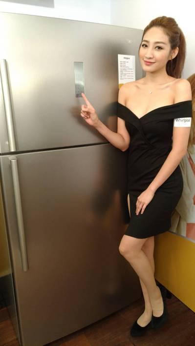 美國百年家電品牌惠而浦在台灣拿回經銷權,發表明年能效標準的一級的變頻冰箱,及洗脫...