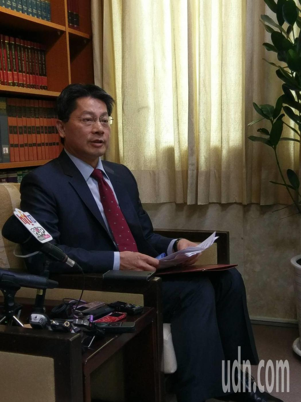 外交部發言人李憲章。記者徐偉真/攝影