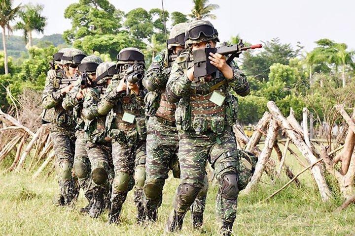 國防部上午公佈2017年軍人退撫新制草案重點。圖/國防部提供