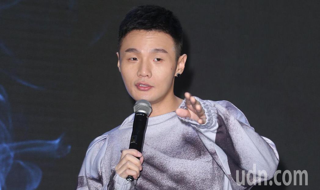 歌手李榮浩下午舉辦新專輯發片記者會。記者陳正興/攝影