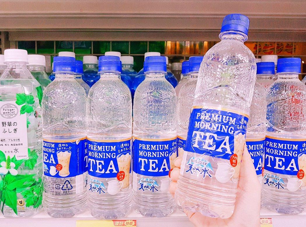 頂好超市搶先上市日本透明奶茶。圖/頂好超市提供