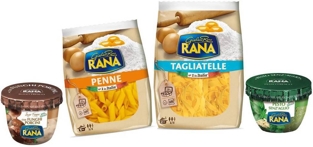 JASONS獨家引進RANA義大利餃,並推出義大利經典RANA義大利麵及特色醬料...