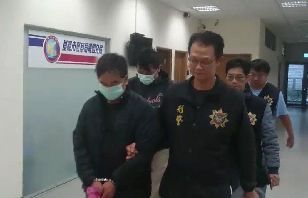 警方依違反毒品危害防制條例將林姓父子等7人移送基隆地檢署偵辦。記者曾健祐/翻攝