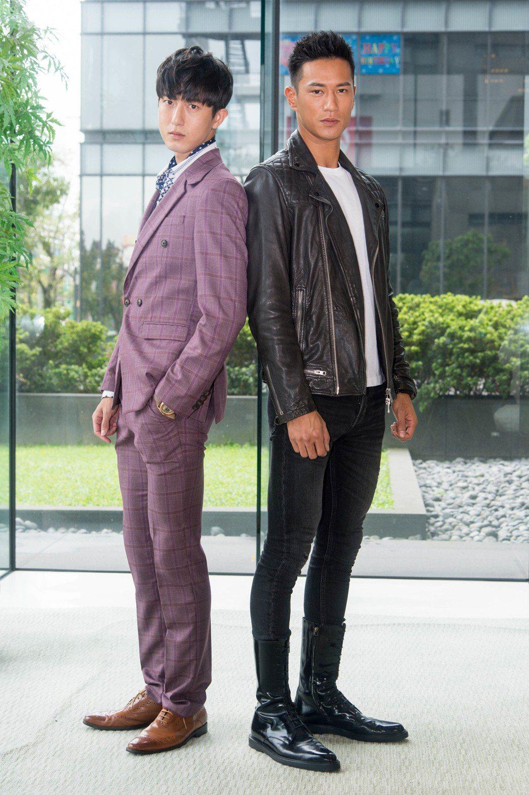 邱昊奇(左)和鍾承翰。  圖/三立提供