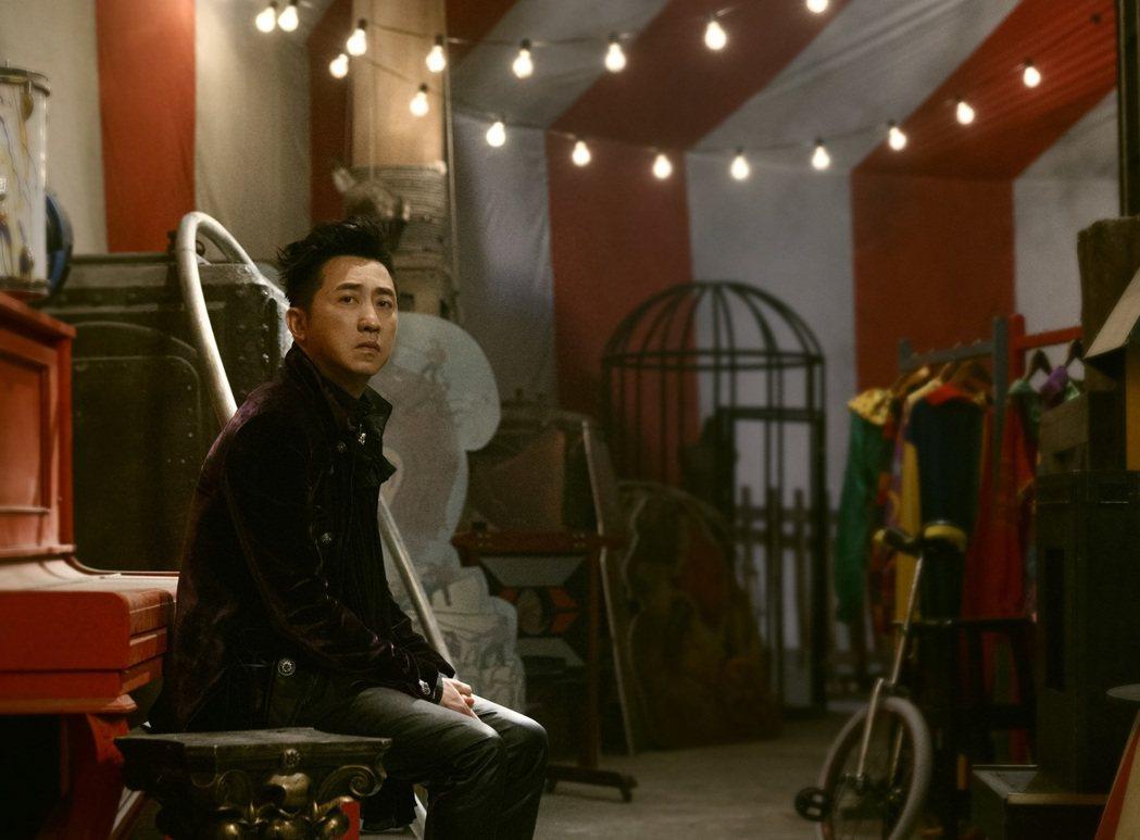 哈林第二波主打「猴lonely」MV連拍10幾小時。圖/福茂唱片提供