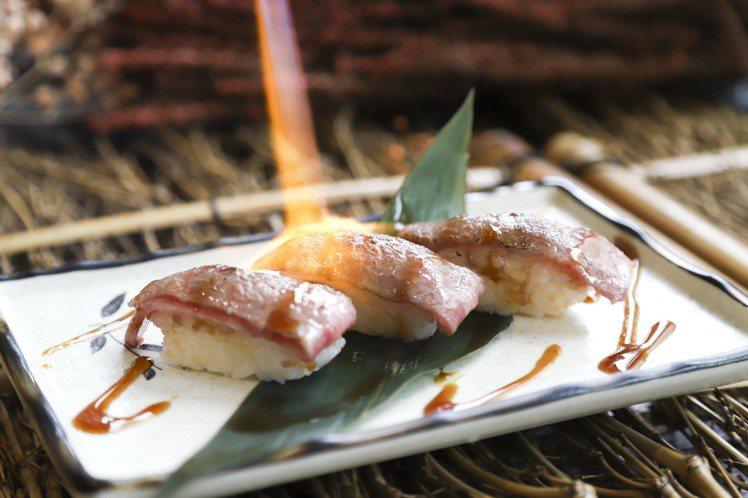 和牛握壽司。圖/豐FOOD提供