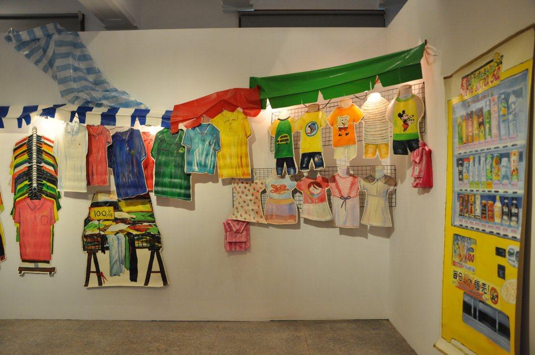 新竹市美術館推出「浮光我城─新竹市美術館十周年展」,為美術館成立10周年慶生,即...