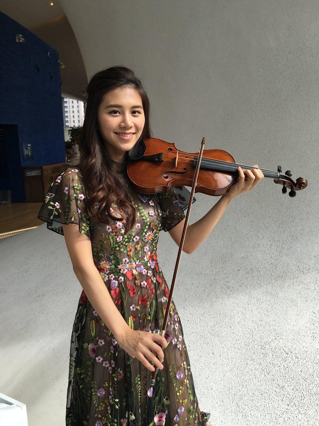 美女小提琴家王馨平,是台中市交響樂園「音樂之星計畫」的實力演奏者,她放棄國外高額...