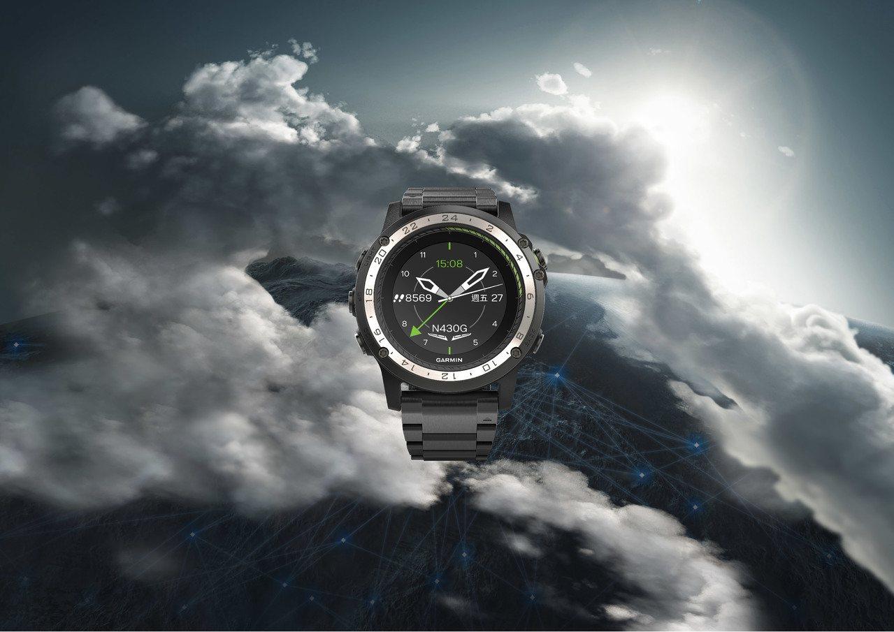 Garmin推出D2 Charlie鈦金航空錶,除滿足消費者對翱翔天際的渴望,內...