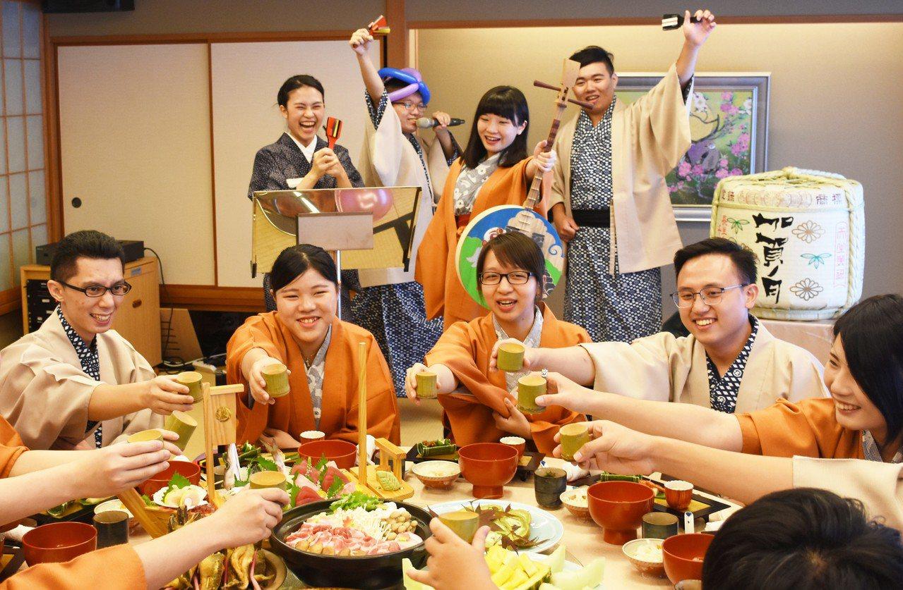 日勝生加賀屋推出望年會專案,每人2,800元。圖/日勝生加賀屋提供