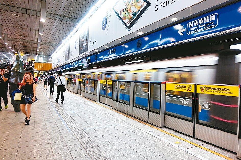 北捷確定從明年起,6到12歲兒童搭乘捷運6折優惠就會上路。 本報資料照片