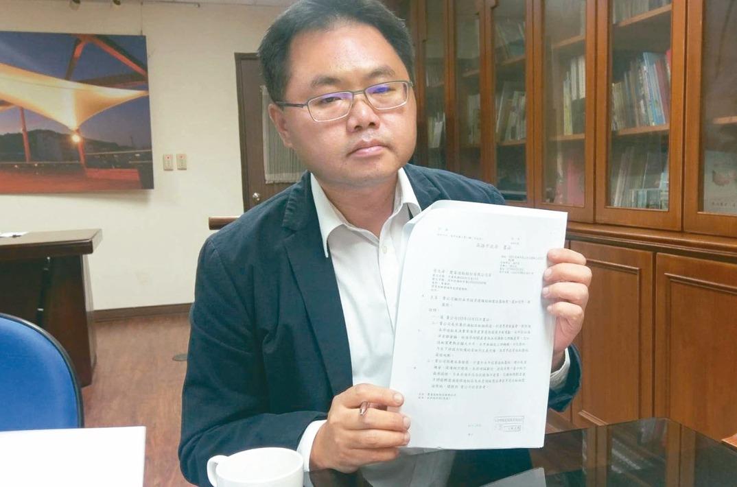 高市海洋局長王端仁被爆協助慶富取得造船廠用地。 本報資料照片