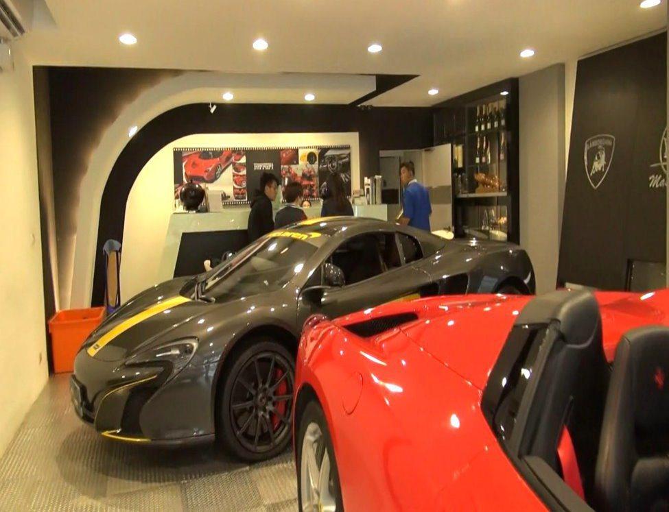 台北市大安區一家出租超跑的業者因積欠四千元的停車費,負責人聽到跑車可能要被查封,...