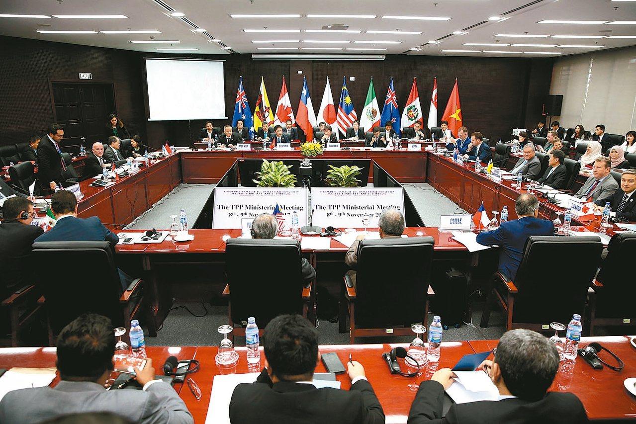 「跨太平洋夥伴協定」(TPP)更名為「跨太平洋夥伴全面及進步協定」(CPTPP)...