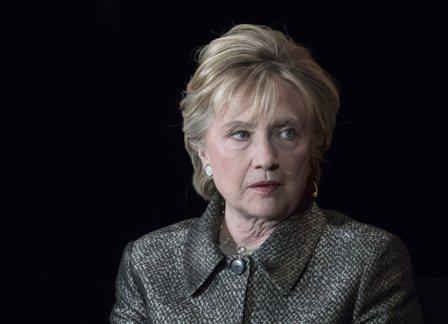 希拉蕊‧柯林頓。美聯社