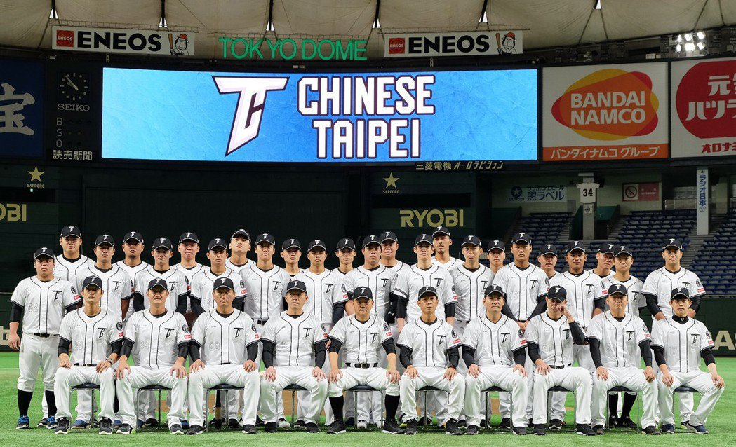 亞洲職棒冠軍爭霸賽16日至19日將在東京巨蛋開打,中職聯隊在日本東京巨蛋內拍攝合...