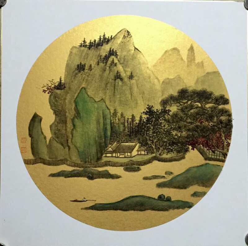 上海名畫家陳佩秋、周傳玉、周敏首次來台聯展。 台灣安全食品推廣協會/提供。