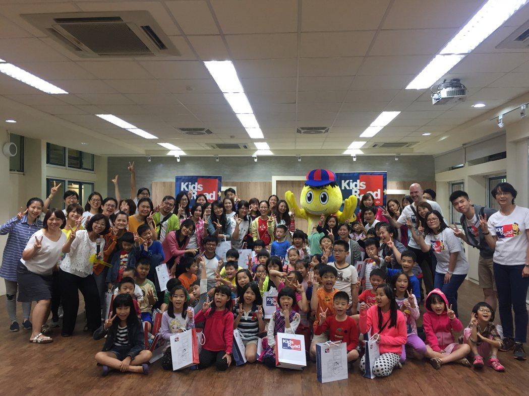 HSBC Kids Read英語閱讀社區活動-新湖國小,師生與家長活動當天滿載而...