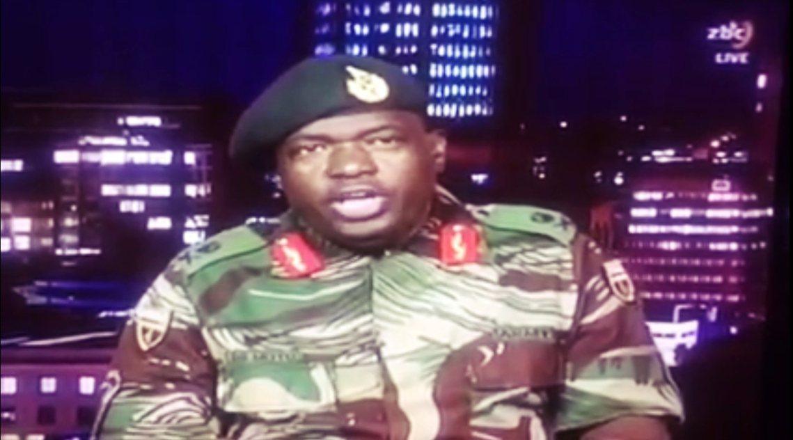 軍方將領也在電視上向全國說明:本次行動「部事政變只是清君側」,穆加比總統與其家人...