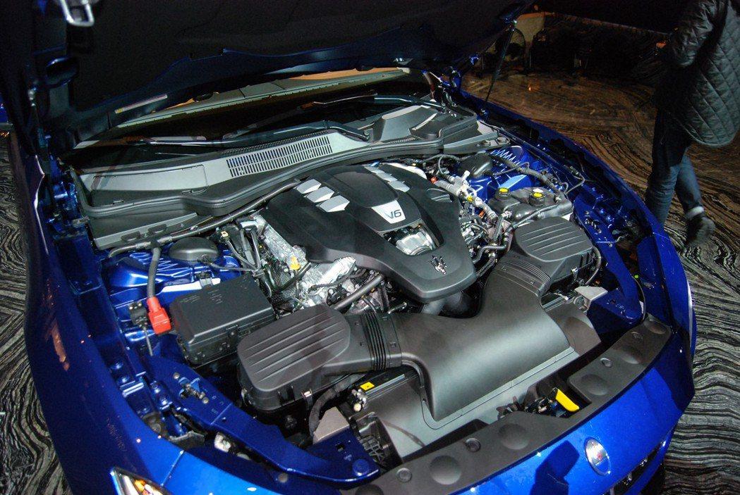 此番新增的 S Q4 GranSport的動力更大,最大馬力來到430匹/59.1公斤米的強悍動能 記者林鼎智/攝影